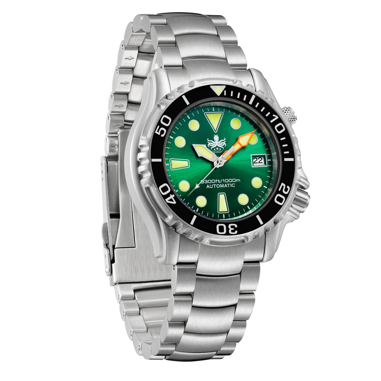 Phoibos ocean master py005a 1000m automatic professional - Oceanic dive watch ...