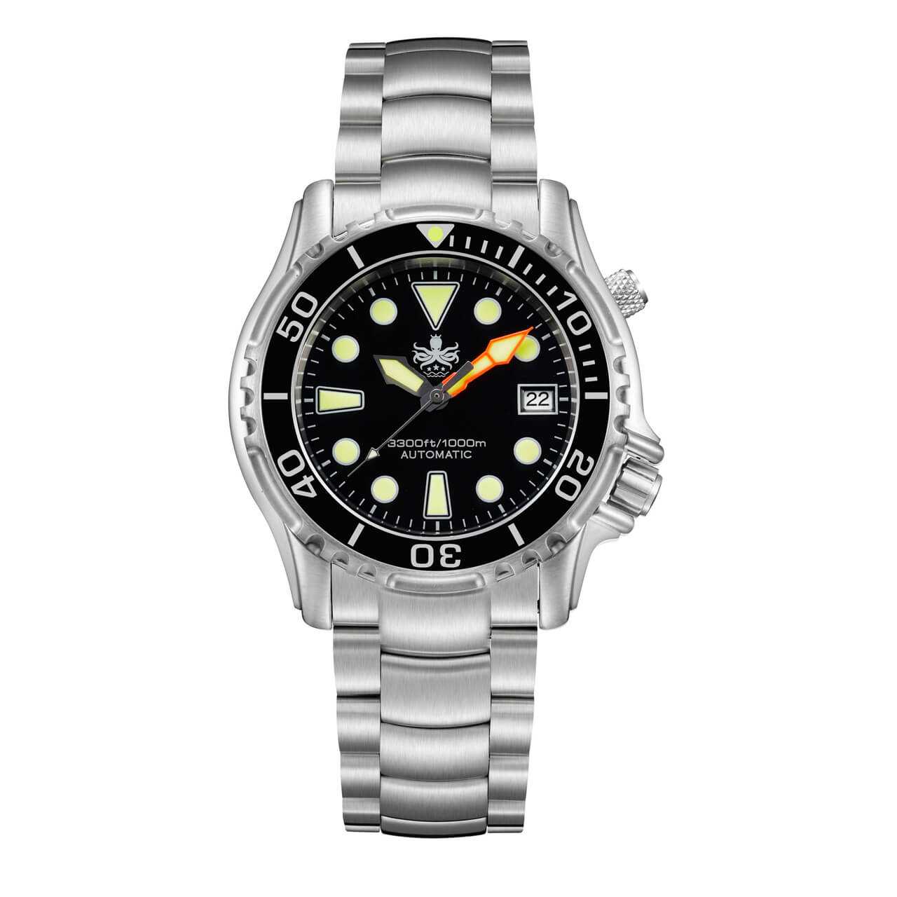 Phoibos ocean master py005c 1000m automatic professional - Oceanic dive watch ...